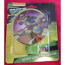 TMNT Nickelodeon Teenage Mutant Ninja Turtles Night Light Assorted