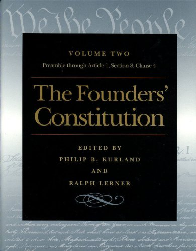 Founders' Constitution, The