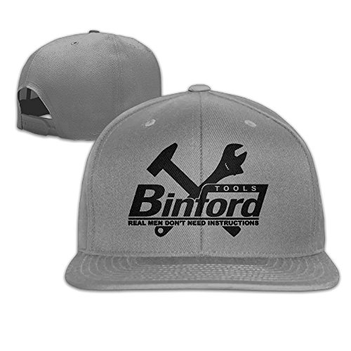 Man's Popular Home Improvement Binford Tools Flat Along Baseball Cap Snapback - Tool Home Improvement Time