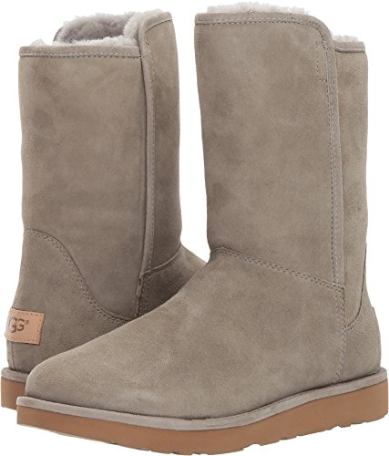 UGG Womens Abree Short II Boot Rock Ridge Size 5