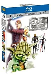 Star Wars The Clone Wars T1-T3 (Bd) [Blu-ray]: Amazon.es ...