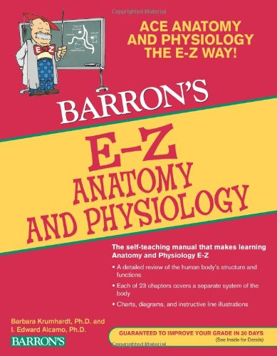 E-Z Anatomy and Physiology (Barron's E-Z Series)