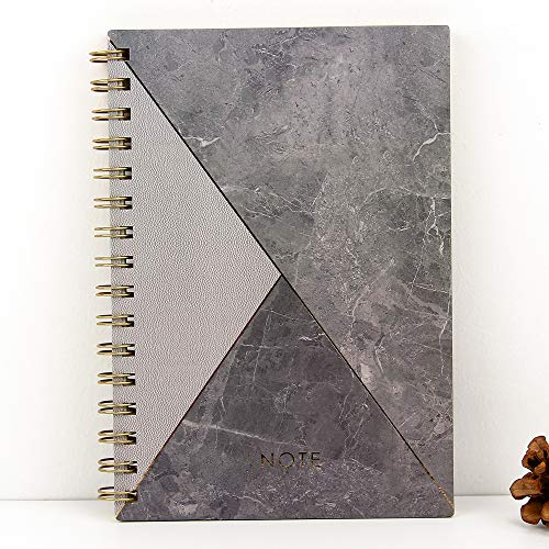Grayboard Hardcover A5 Notebook,80 sheets Spiral Journal Notebook,6.1