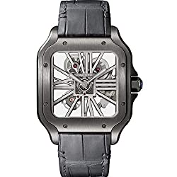 Santos de Cartier Mechanical-Hand-Wind Male Watch