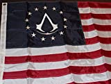 Assassin's Creed 3 III Colonial Flag Limited Collector's Edition - BRAND NEW RARE
