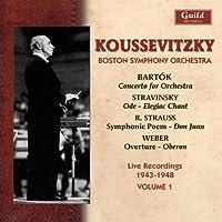 Serge Koussevitzky Conducts Strauss Bartok 1