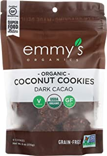 product image for Emmys Organics (NOT A CASE) Dark Cacao Macaroons
