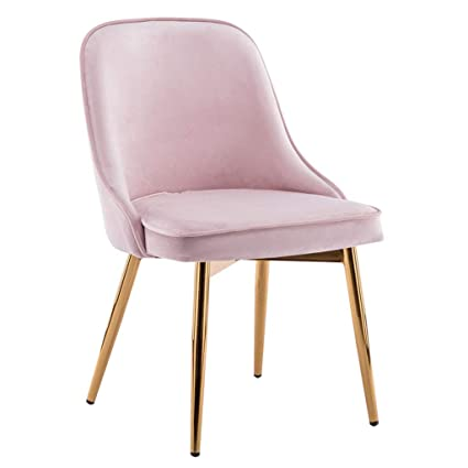 Amazon.com - Nordic Dining Chairs Concise Upholstered Dressing Chair ... 277729d0b