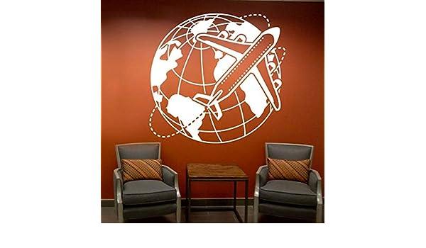 Agencia de viajes Oficina Tatuajes de pared Vacaciones Viaje ...