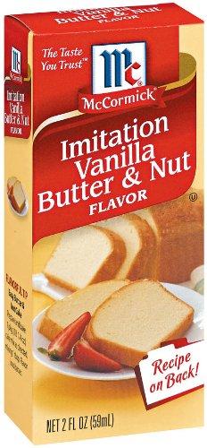 McCormick Imitation Vanilla Butter Flavor
