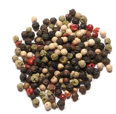 Four Peppercorn Blend-8oz-Rainbow Blend Four Color Peppermill Blend from Denver Spice