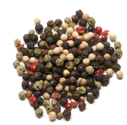 Four Peppercorn Blend , Rainbow - 1 Pound (16 Ounces) Colorful Classic Peppermill Blend (Blend Rainbow)