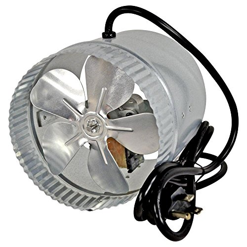 (Suncourt DB6GTC 6 in. Corded Duct Fan with More Powerful)
