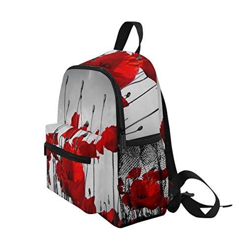 nbsp;Bag nbsp;Book Boys Retro nbsp;Toddler nbsp;Girls ZZKKO nbsp;for Kids nbsp;Backpack Poppy nbsp;School Rose Yzfw0q7