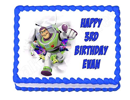 Cakes for Cures Buzz Lightyear Toy Story ToyStory Edible Cake Image Frosting Sheet Party Decoration