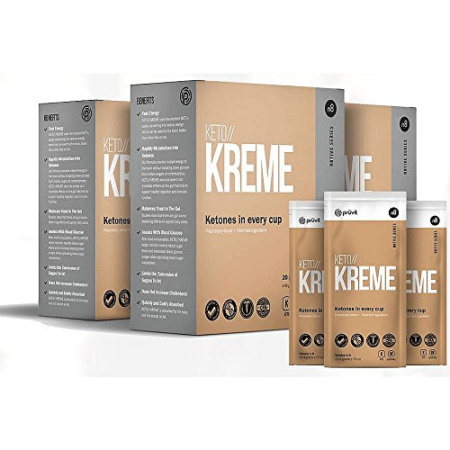 NEW! Keto // KREME by Pruvit - 20 Packets! - Ketone Supplement in a Coffee Creamer! 20 Servings - Kreme