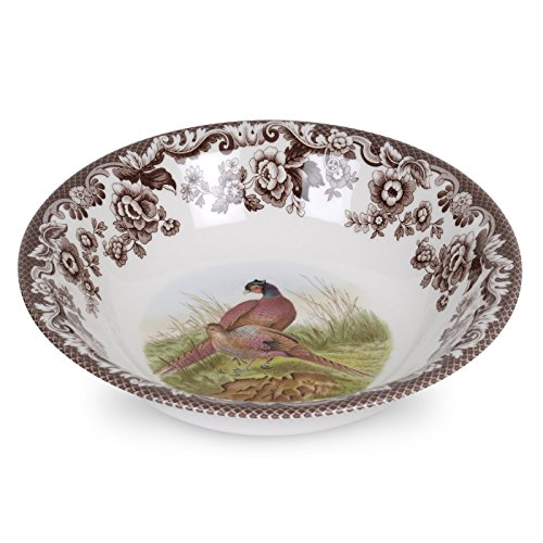 Spode 1566415 Ascot Cereal Bowl, Multicolor by Spode