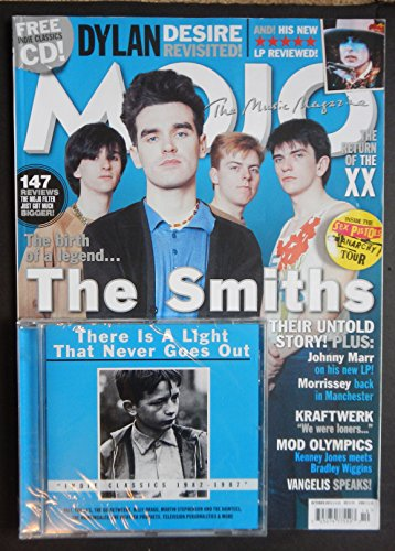 Price comparison product image Mojo Magazine Issue 227 October 2012 The Smiths + Sealed CD
