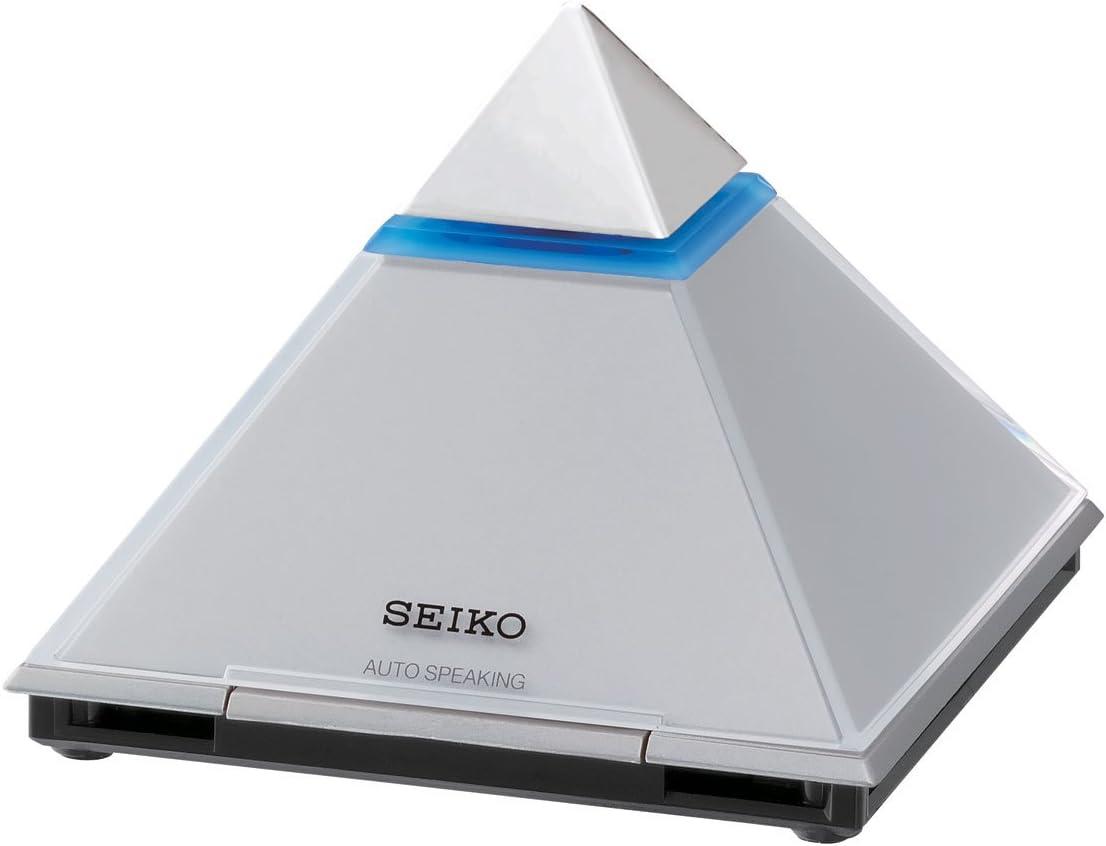 Seiko Talking - Reloj de Mesa con Pantalla LCD