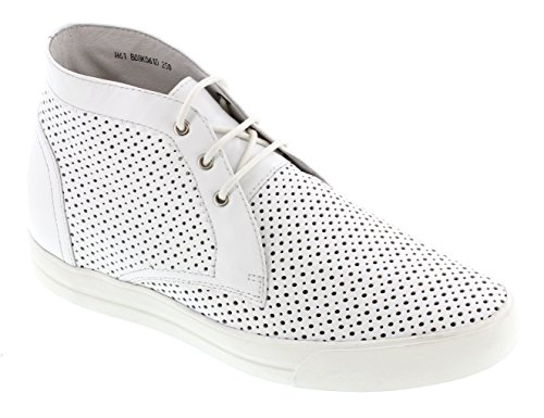 Toto H08061-2.4 Inches Högre - Höjd Ökar Hiss Skor - Cement Grå Lätta Mode Sneakers