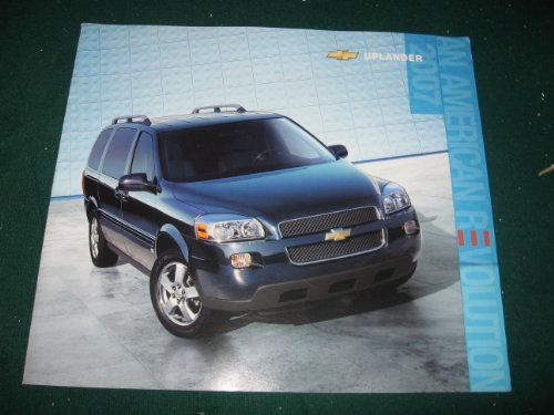 2007 Chevy Uplander Dealer Sales Brochure