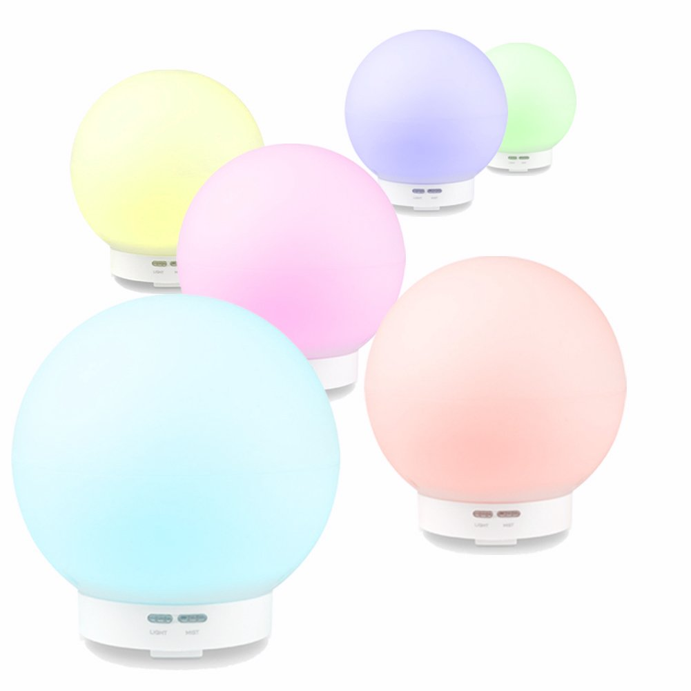 Aromatherapy Essential Oil Diffusers 400Ml Humidifiers Waterless Auto Shut-Off  Aroma Diffusers Kids Night Lights for Bedroom Living Room