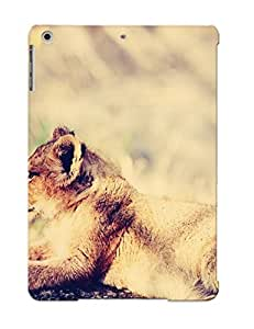 Hot Snap-on Lion Cub Hard Cover Case/ Protective Case For Ipad Air