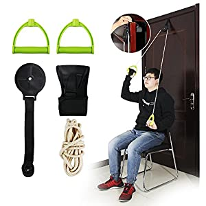 REAQER Shoulder Exercise Pulley - Frozen Shoulders Physiotherapy Rehabilitation Motion Maintain Ranger Surgery Frozen… 2
