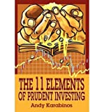 img - for [(The 11 Elements of Prudent Investing * * )] [Author: Andrew R Karabinos] [Sep-2002] book / textbook / text book
