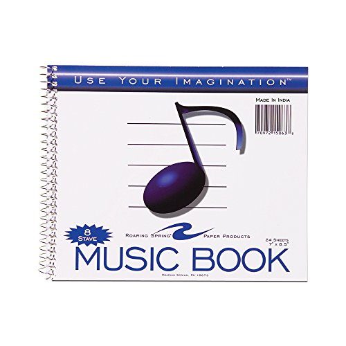 Roaring Spring Music Notebook, 7