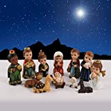 ''O Holy Night'' 12 Pieces Children's Nativity Set