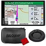 "Garmin DriveSmart 65 & Traffic 6.95"" Display GPS Navigator with Case and Mount"