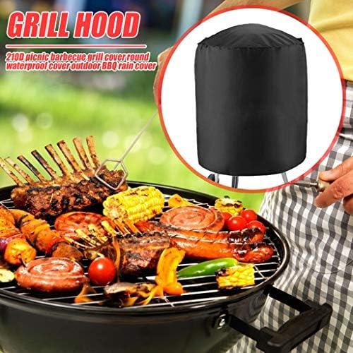 Housse de Barbecue Tout Usage Housse de Barbecue à gaz Protection Contre Les éclaboussures Protection imperméable à l'eau en Plein air Pratique BBQ Heavy Duty Extra Helper