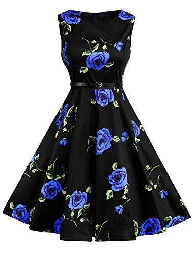1960s Floral Dress - 6