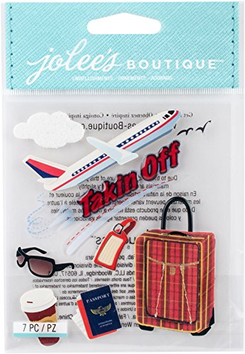 Jolee's Boutique Dimensional Stickers, Taking Off