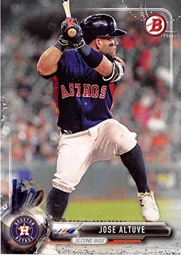 2017 Bowman #19 Jose Altuve Houston Astros Baseball Card