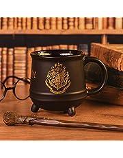 Harry Potter Hogwarts Crest Unisexe Mug noir,