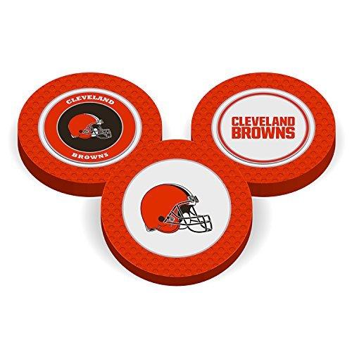 (Team Golf NFL Poker Chip Ball Marker (Cleveland Browns))