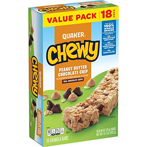 Quaker Chewy Peanut Butter Chocolate Chip, 14 Pound