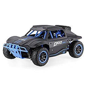 AHAHOO RC Cars 1/18 Remote Control Vehicle 4WD High Speed 15.5MPH+ 2.4Ghz Radio Controlled Off Road Rock Climber Fast Electric Desert Monster Trucks