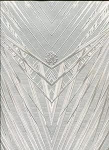 17072 Roberto Cavalli 6 Zebra Motif White Wallpaper