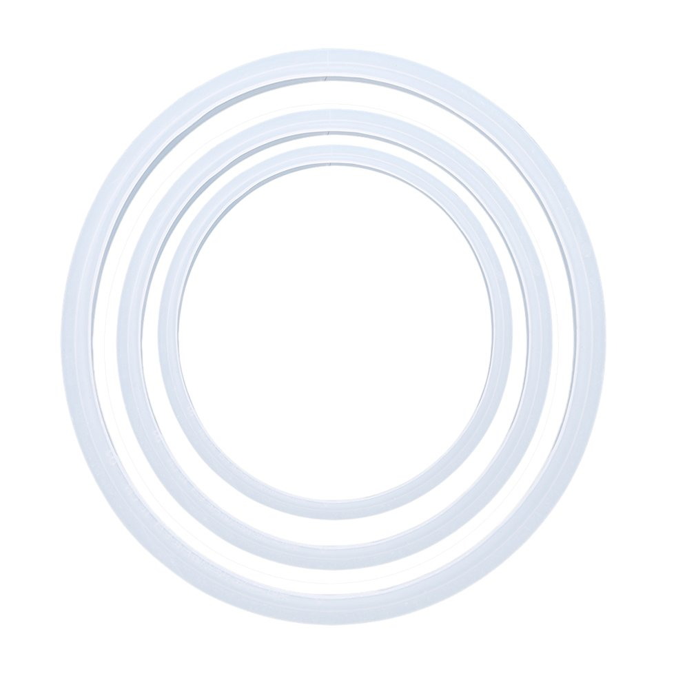 EH-LIFE Electric Pressure Cooker Silicone Sealing Ring Kitchen Gasket Transparent 22 CM