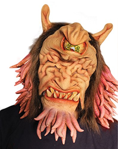 Zagone Fun Ghoul 2 Mask, Monster, Alien, Cyclops Creature