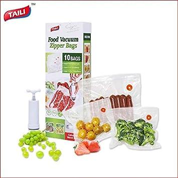 Amazon.com: MoonSpring Bolsa de vacío para alimentos con ...