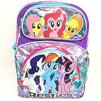 My Little Pony Besties Large School Backpack 16