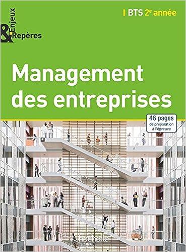 Livres Enjeux et Repères Management des entreprises BTS 2e année - Livre élève - Ed. 2015 pdf