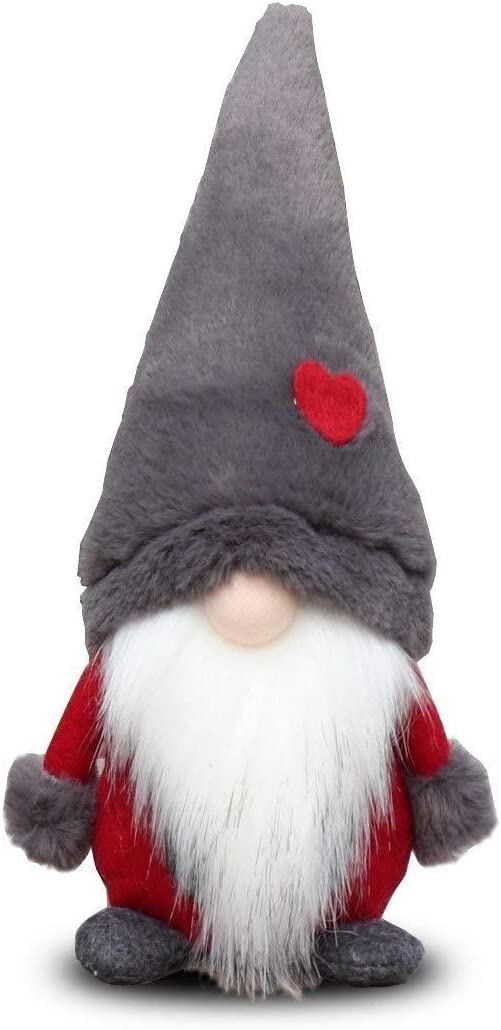 Amazlab Swedish Santa Gnome Plush, Handmade Scandinavian Tomte Nordic Nisse Sockerbit Elf Dwarf Home Household Ornaments, Christmas Santa Decoration