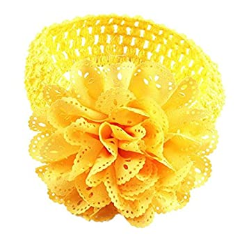 Tensay Baby Kids Girls Lace Flower Elastic Hairband Headband Dress Up Head Band