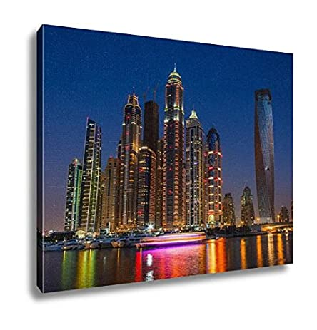 Amazon Ashley Canvas Nightlife In Dubai Marina Uae November 14
