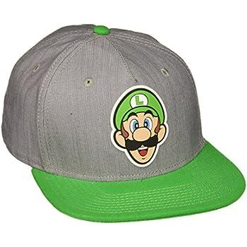 e4445b080ff Amazon.com  BIOWORLD Nintendo Super Mario Bros - Luigi Rubber Logo ...